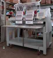 2 Head Flat+Cap+Finished chain stitch embroidery machine WER-DS1502