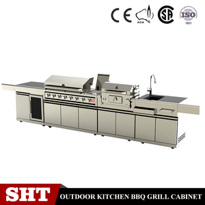 Modern outdoor kitchen cabinets with sinks made in China