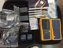Efficient Fluke Networks DTX-1200 Cable Analyzer with Multi-Mode Fiber Modules