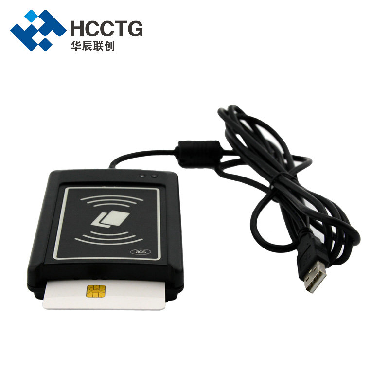 Dual Interface USB NFC + IC Chip Tablet PC ISO 7816 Smart Card Reader ACR1281U-C1