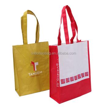 Eco Friendly Laminated Tote Bag