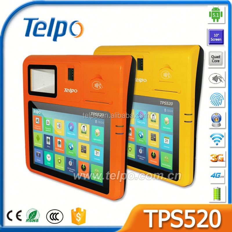 Telpo TPS520 Lottery Ticketing Machine With Thermal Printer