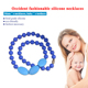 FDA Baby Teeth Beads Soft Nursing and Silicone Teething Necklace