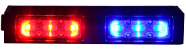 Emergency vehicle of 3W led warning police strobe lights