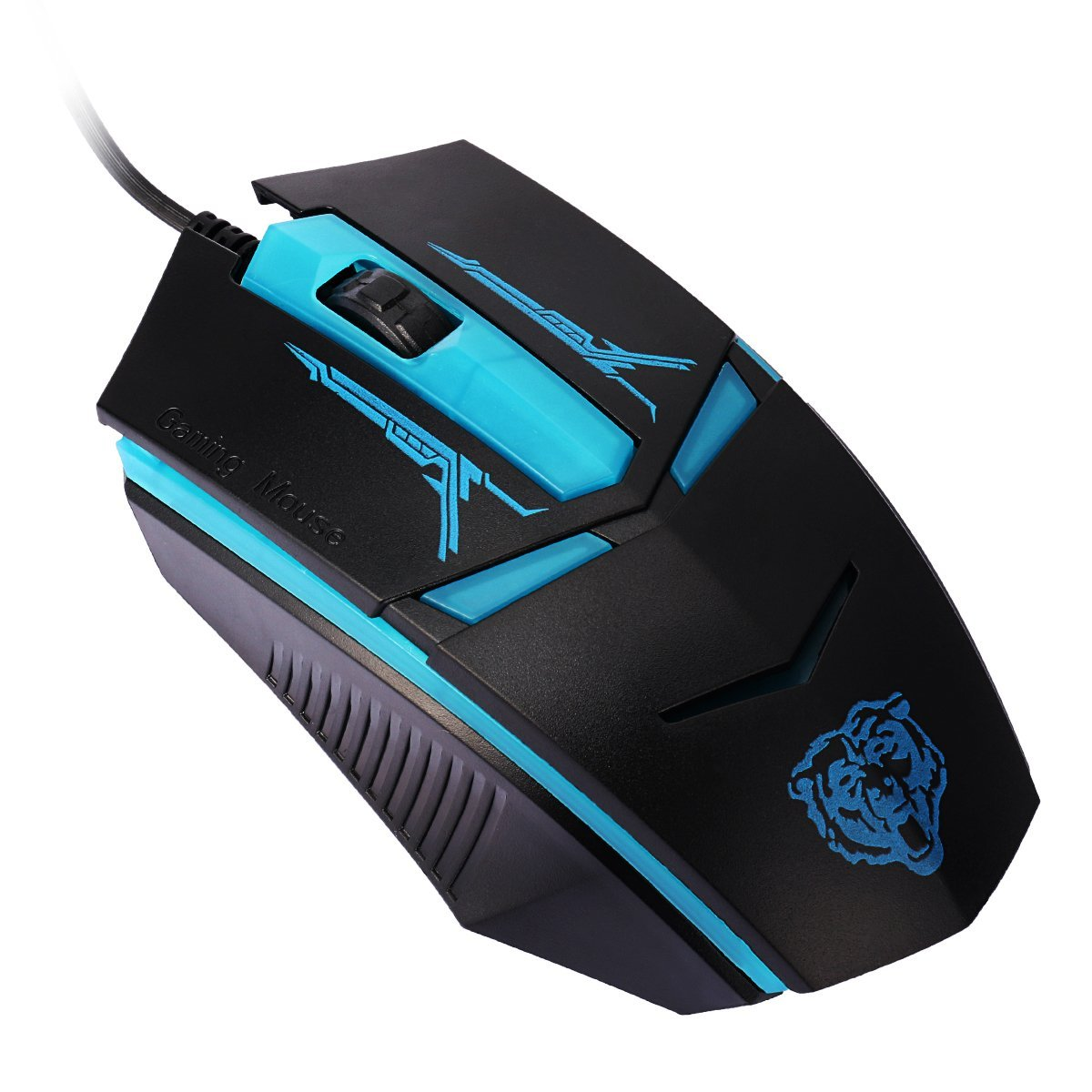 Buy ANCOOLE Optical Wired Mouse Ergonomic Creative Cool Appearance ...