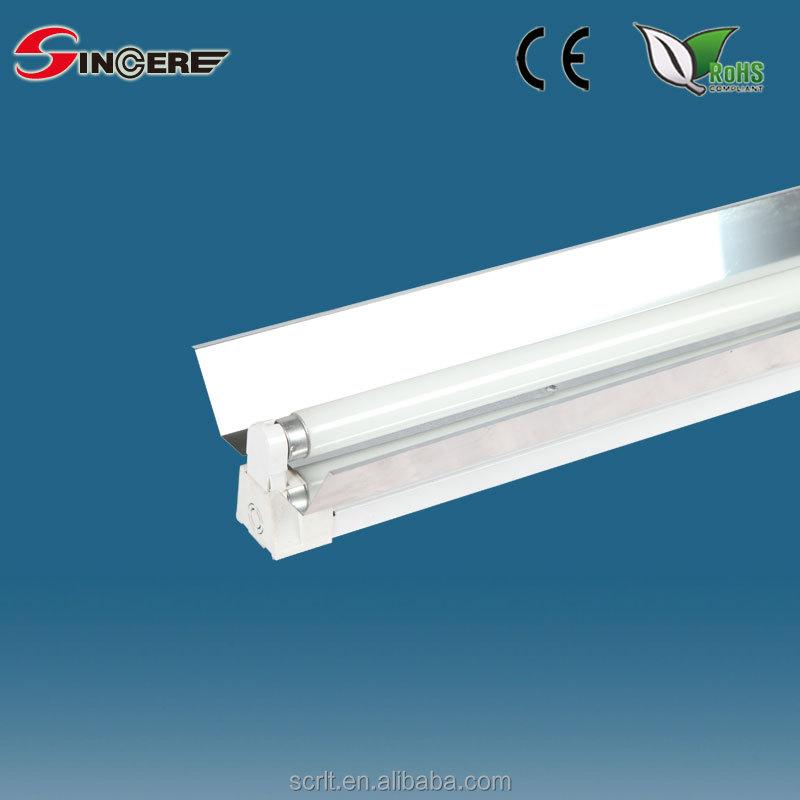 T8 Batten Reflector T8 Fluorescent Light Fitting