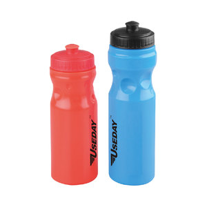650ml hot selling LD/HDPE Plastic Logo Customized PE Bicycle hygienic plastic sports water bottle
