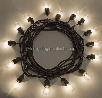 Outdoor String Light 15Incandescent Bulbs Patio Lighting
