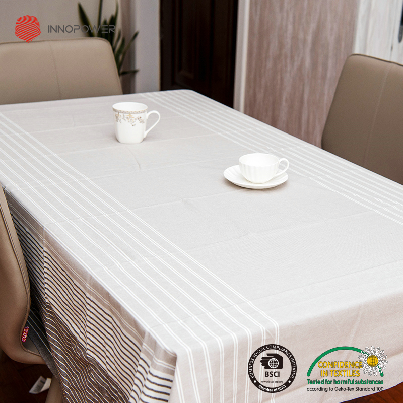 Cotton tablecloth 145*190 cm rectangle multi color table covers