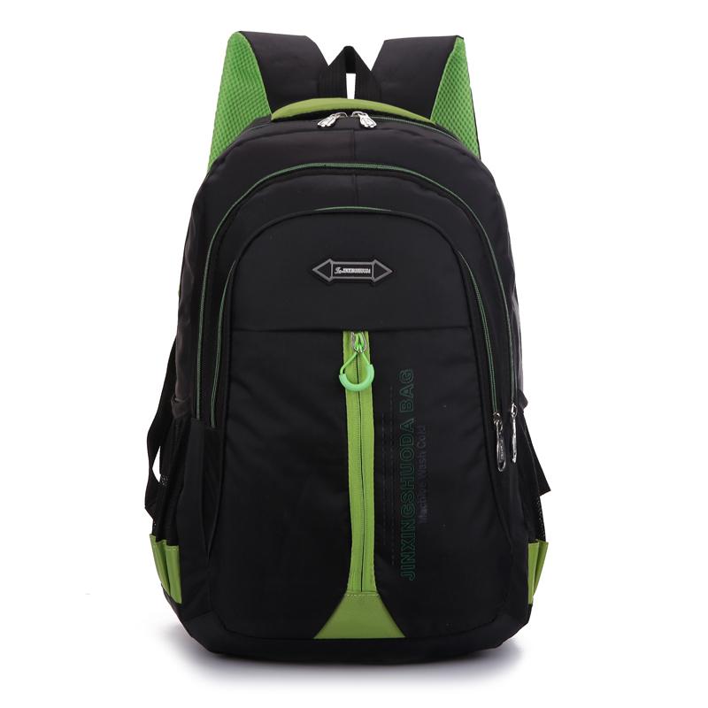 2e1b04daaa Get Quotations · 2015 New Green Men Backpacks Letter Mochilas School Bags  Travel Bag Unisex Casual Patchwork Backpack Waterproof