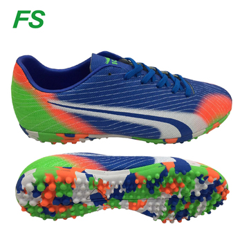 2017 Wholesale colorful man indoor soccer boots futsal shoes customize turf  shoes dff63098d7ed