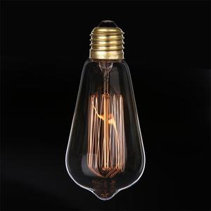 Chinese Manufacture Hot Selling E27 E26 40W 60W ST64 Vintage Light Edison Bulb