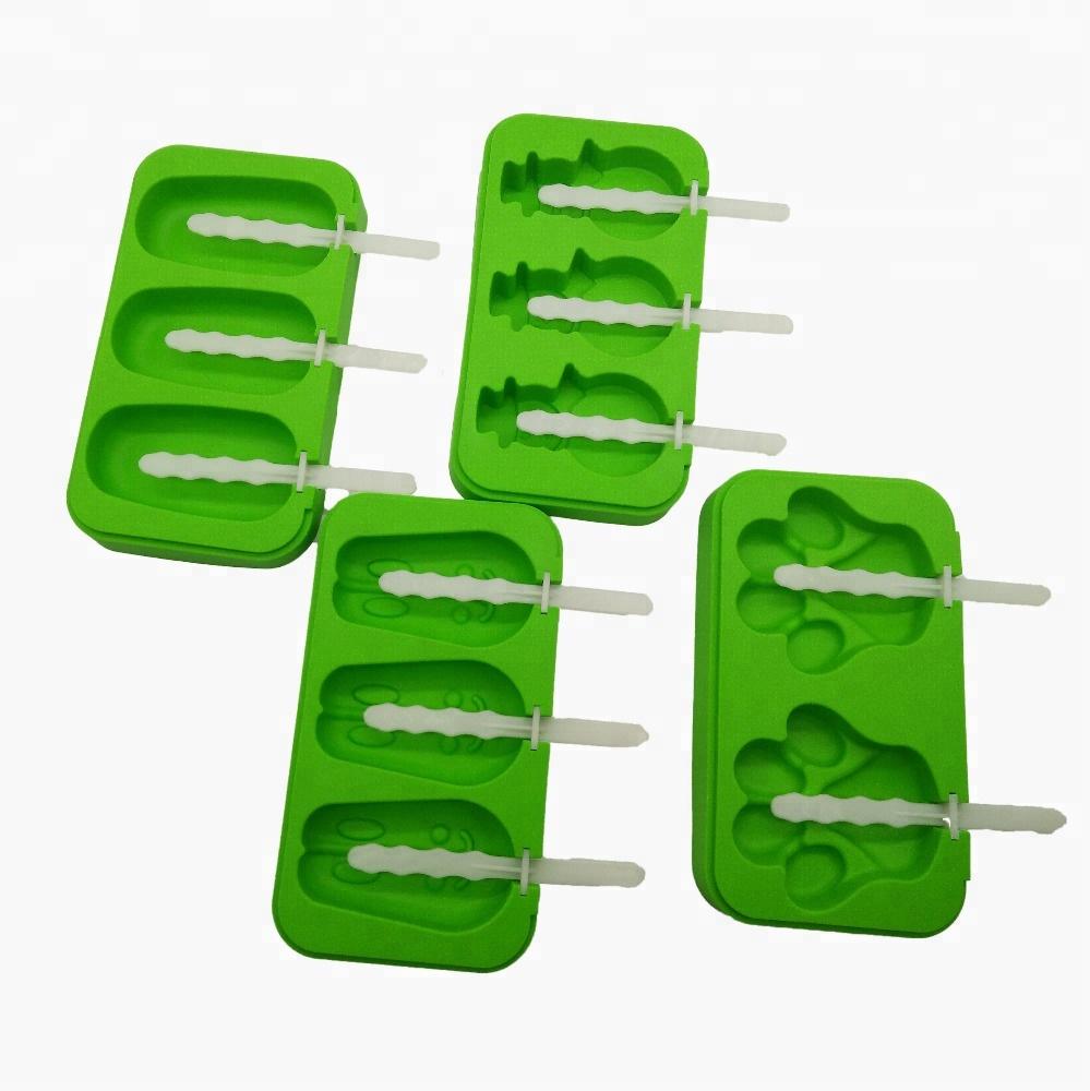 Домашняя форма для Фруктового мороженого, силиконовая форма для Фруктового мороженого с полипропиленовыми палочками