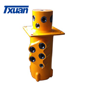 Hydraulic central Rotary joint excavator swivel union More than 20 years  design manufacturing and application experiences
