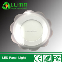 Lacy Pattern Recessed Mounted Led Panel Light 2 Colors