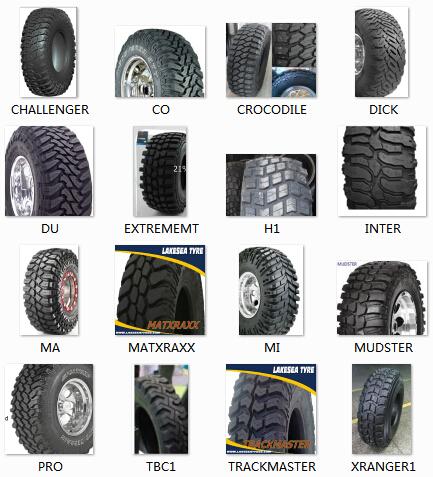 30 X 9 50r15 31 X 10 50r15 4x4 Suv Mud Tire Light Truck Mud Tires