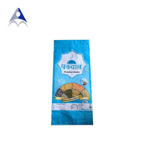 bopp laminated pp woven plastic bags for pulses ,lentils ,beans packaging 30kg 50kg chickpea woven packing bags for sale