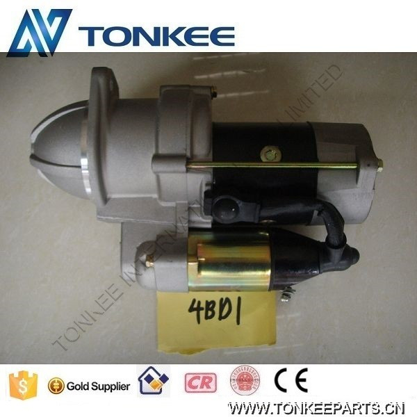 4BD1 starter 4BD1 starting motor for excavator