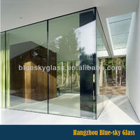 LT competitive price and certificate cut to size clear office room glass wall