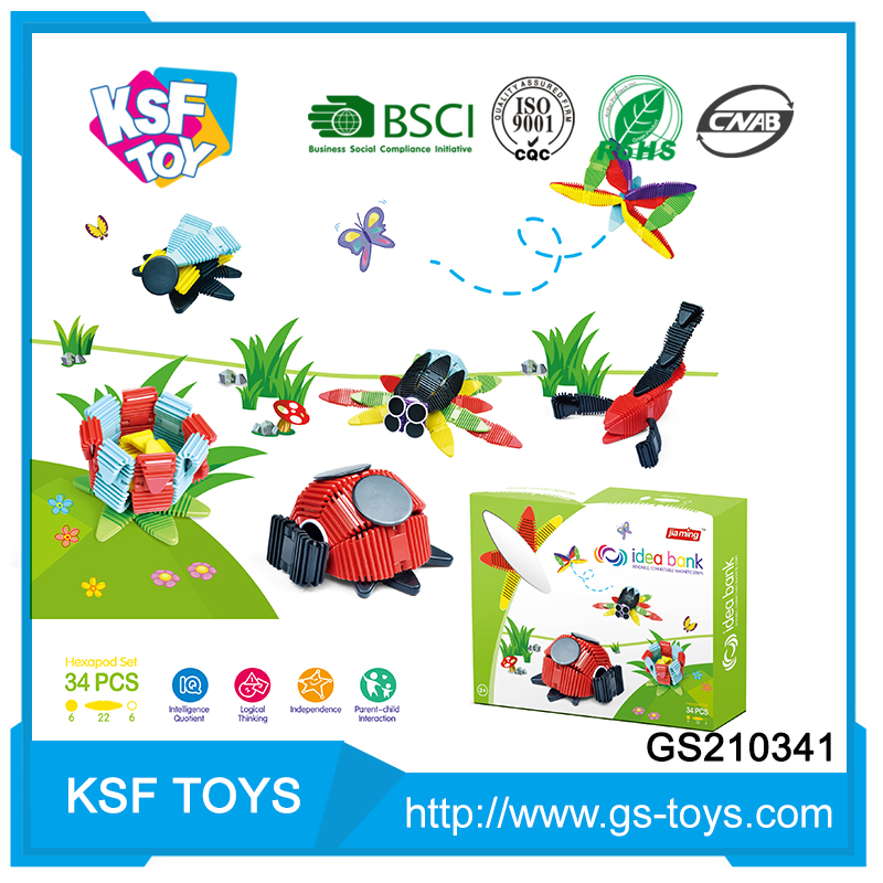 new style kids diy soft children building plastic toys blocks for hot selling