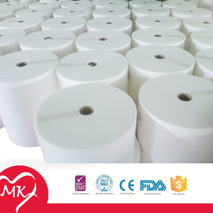 Spunlace nonwoven fabric raw material for wet wipes