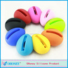 Egg shaped Promotional Gift Silicone Horn Speaker for iphone 5/5s