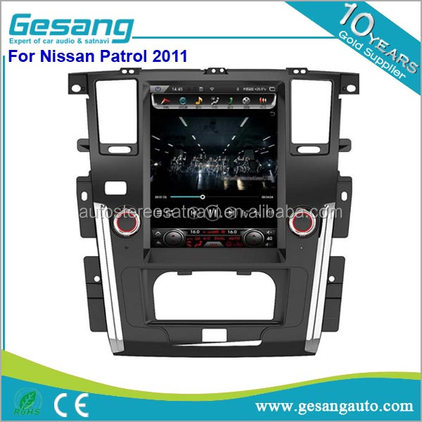 Wholesale android Car Video Player 2 din car dvd player for Nissan Patrol 2011 Navigation Car Radio GPS Support Playstore,WIFI