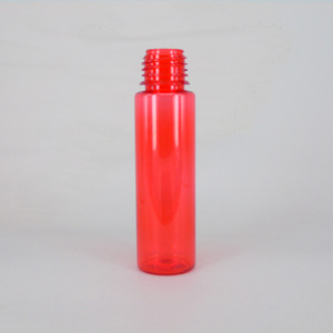 30ml 60ml Red liquid perfume cooking oil plastic bottle for custom design with dropper