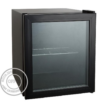 Glass Door Hotel Mini Bar Fridge / Mini Bar Single Door Fridge