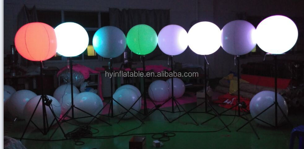 2016 inflatable star shape led balloon with tripod, Inflatable Tripod Stand Light Balloon