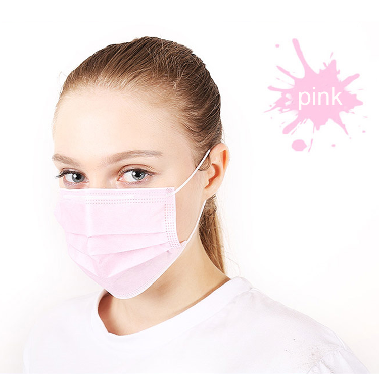 Blue Mouth Face Protective Disposable Facemasks