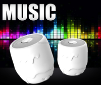 3W high quality stereo mini tech speaker wireless bluetooth with high power output speakers for ipod/iphone/ipad