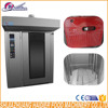 Bread 32 Trays 64 trays gas rotary rack oven for bakery
