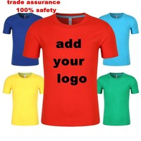 2017 Cheap OEM Short Sleeve Print 100% Cotton High Quality Men Custom T Shirt Printing