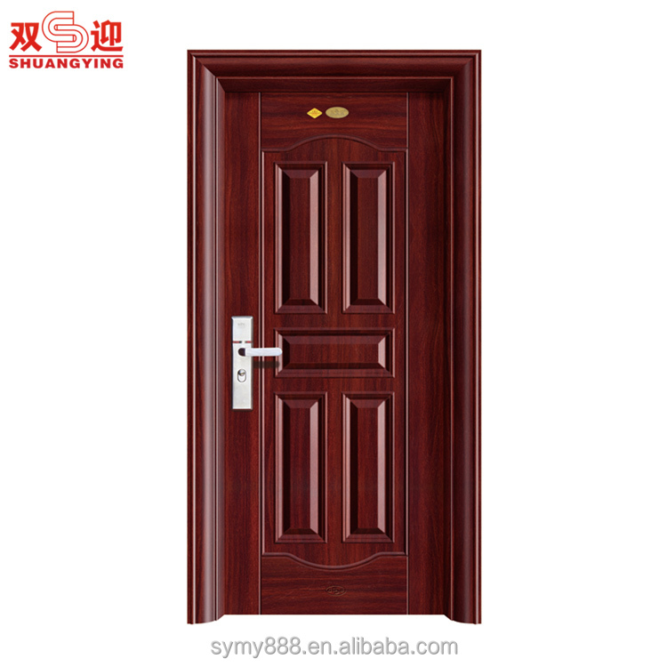 Factory directly supply steel security door/interior door/steel fireproof door