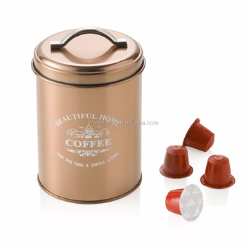 Set Of 5 Copper Storage Canisters Sugar Coffee Tea Buy Copper Canistertea Canisterstorage Canister Product On Alibabacom