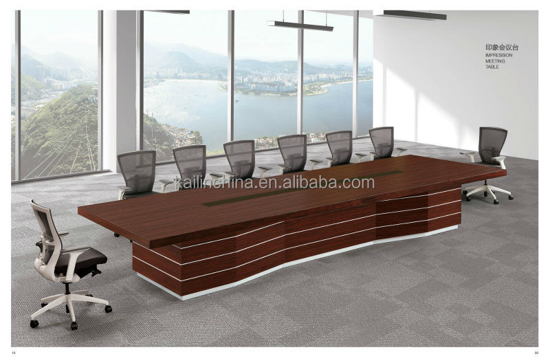 office conference table design. impression new design meeting furniture customized veneer finished conference table office 2