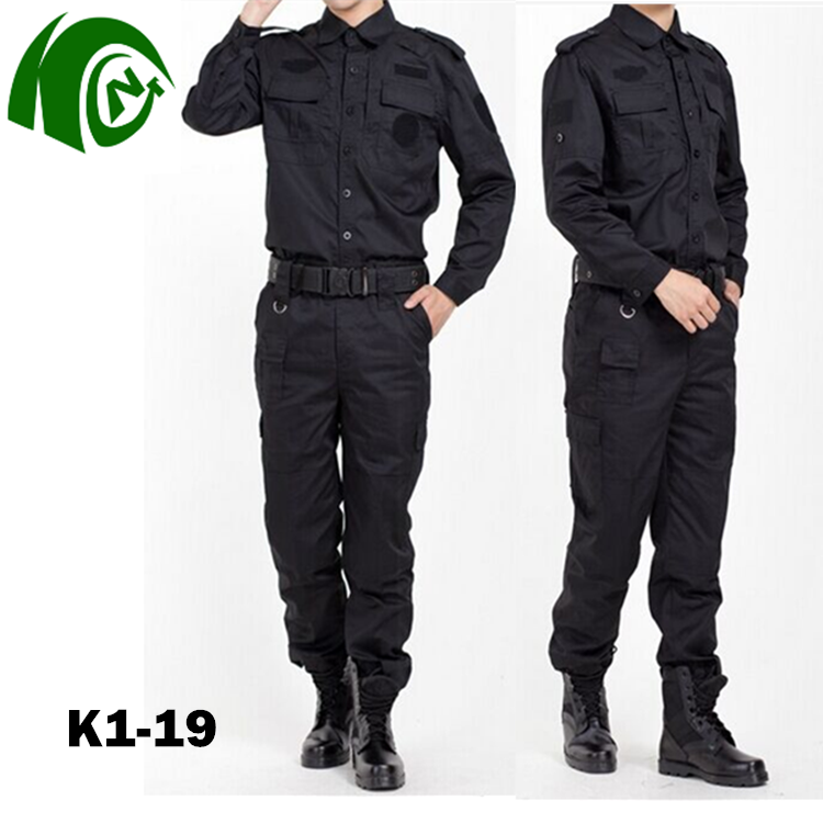 Military Uniform Army Suit Black military camouflage uniform Combat Uniforms