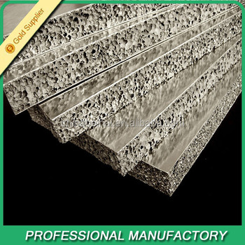 Exterior Wall Finishing Material High Quality Aluminum Foam Panels Buy Exterior Wall