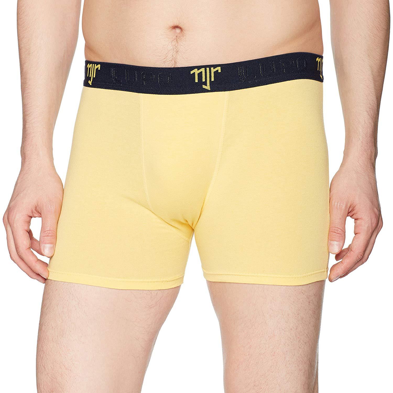 Lupo Mens Neymar Jr NJR Stretch Cotton Trunk Underwear
