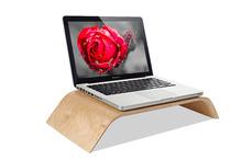New Original Samdi Wooden Birch Stand Desktop PC Display Holder All-in-one Universal Bracket Riser Stand for Apple iMac Macbook