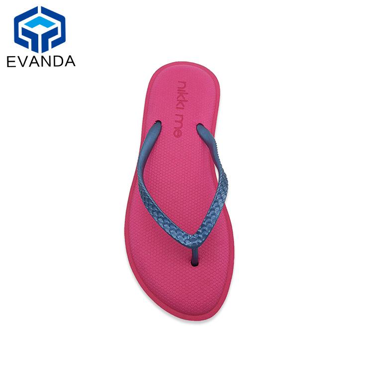 d1a04e54ecdf Beach China Woman Lady Summer Flip Flops Wholesale Fuzhou Eva ...