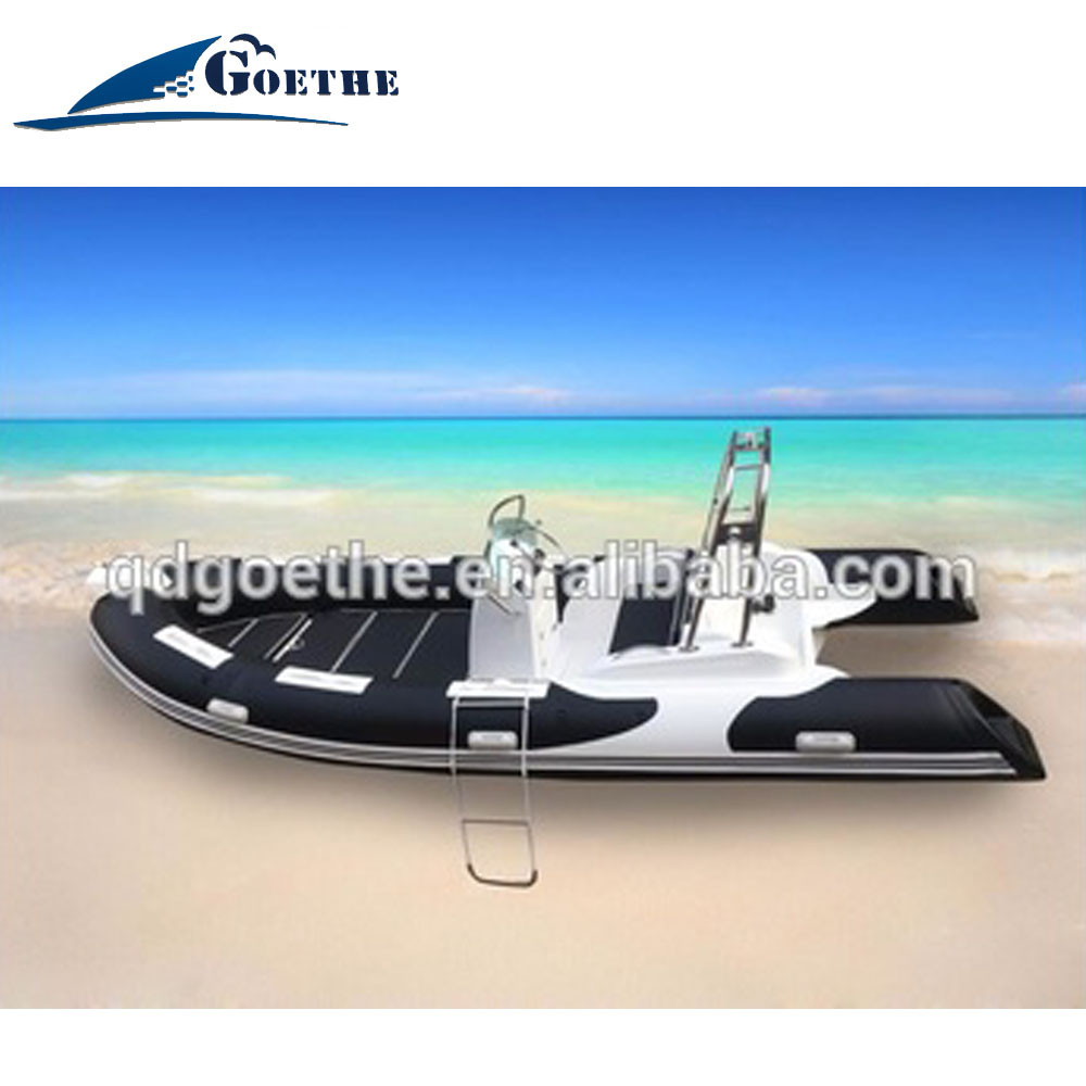 Goethe Factory Direct Top Sale 17' Inflatable <strong>Boat</strong>, rib hypalon inflatable <strong>boat</strong>