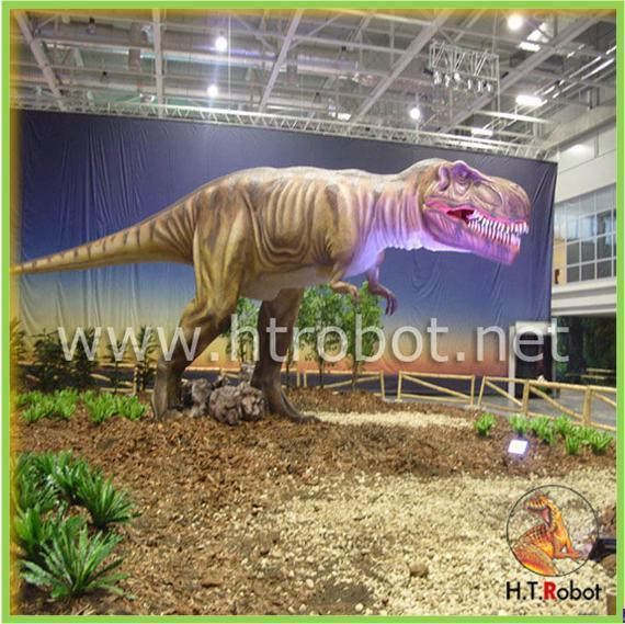 Simulation Real Dinosaur Model for Dinosaur Museum