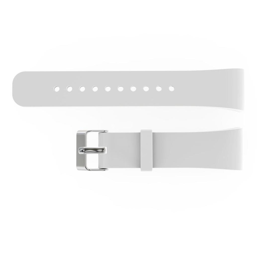 For Samsung Gear Fit 2 SM-R360 Wristband,Binmer(TM) Luxury Silicone Watch Replacement Band Strap (White)