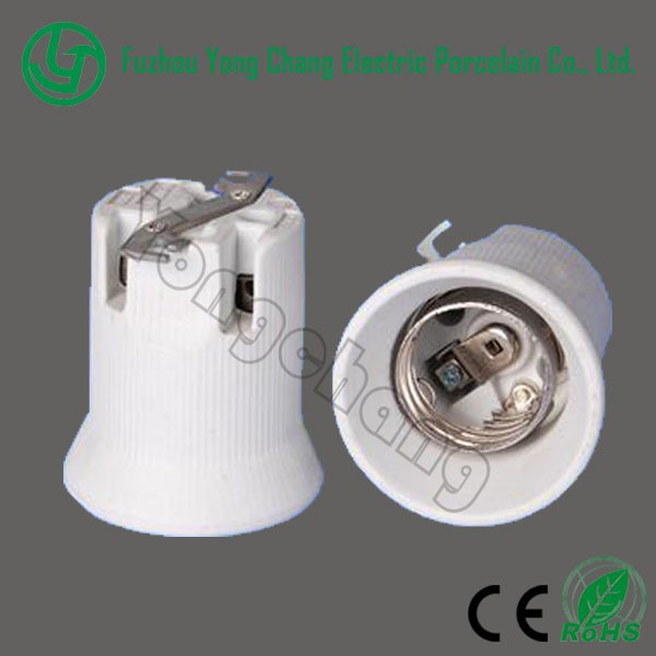 HOT Sale Ceramic Lamp Holder E40 Electric Pendant Light Socket