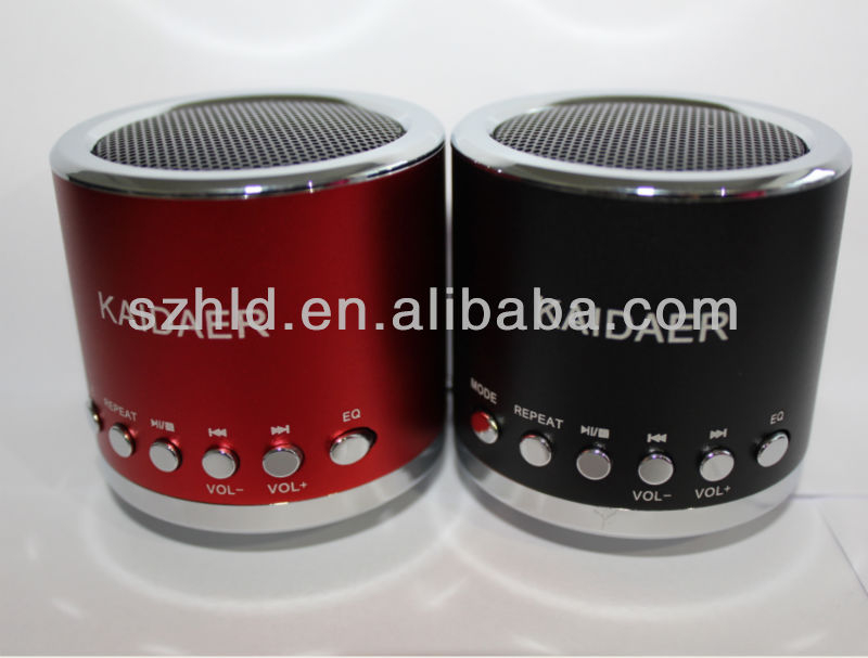 new merchandise with LED light portable speaker