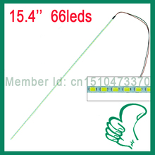 LED Backlight Lamps For update LCD Monitor 15.4 inch 3014 LED strip for LCD 336*2mm with 66leds 2pcs/lot