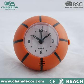 Laatste Basketbal Vorm Slaapkamer Klok,Bal Alarm Bureauklok - Buy ...