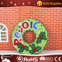 High Quality Roundness Decoration Christmas Door/Wall Ornament